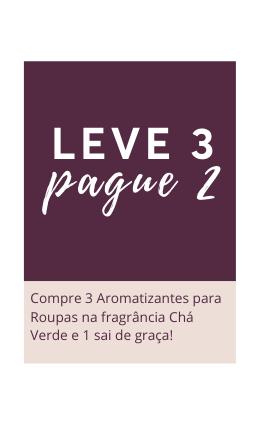 Compre 3 Pague 2 - Aromatizante de Roupas Cha Verde